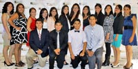 Hispanic Chamber Scholarship winners